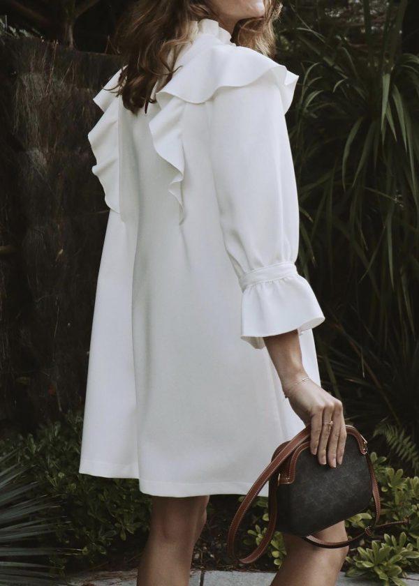 Robe HELENE - Blanche